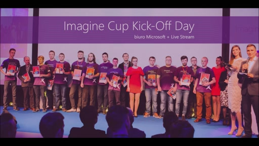 Imagine Cup Kick-Off Day Intro