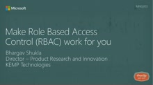 Make Role Based Access Control (RBAC) work for you