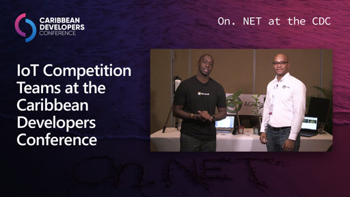 IoT Competition Teams at the Caribbean Developers Conference