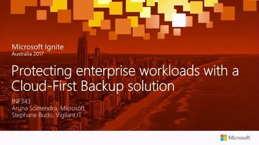 Protecting enterprise workloads with Cloud-First Backup solution for Azure (IaaS), Physical, Hyper-V, VMware