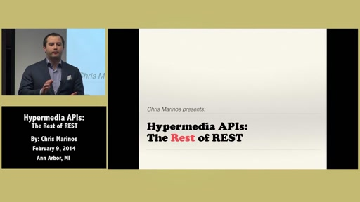 Hypermedia APIs: The rest of REST by Chris Marinos