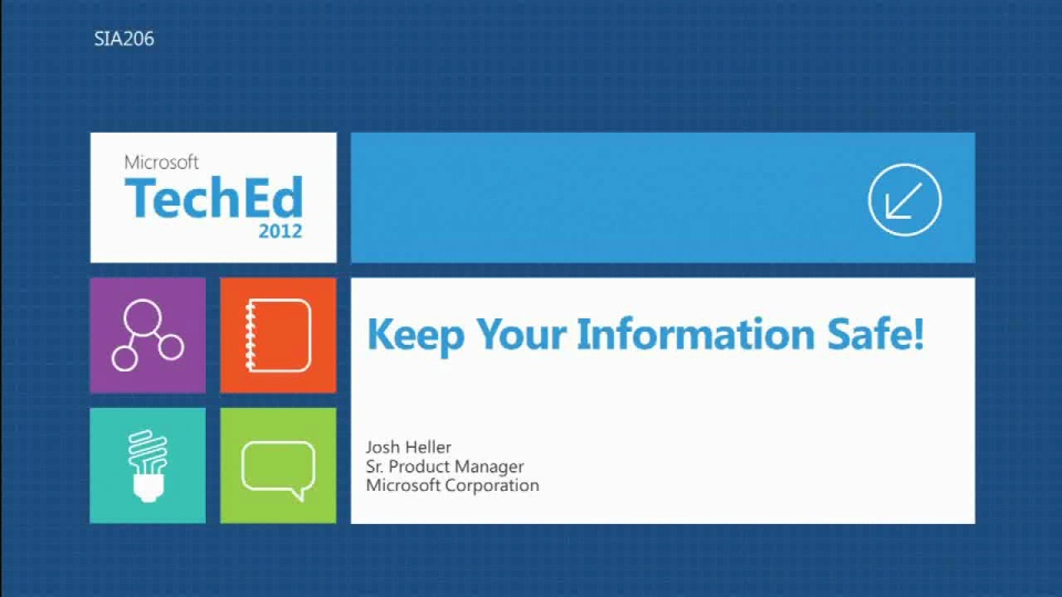 Keep Your Data Safe! Introduction to Information Protection Technology