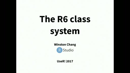 The R6 Class System