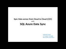 Synchronize Data from Cloud to Cloud (C2C) using SQL Azure Data Sync