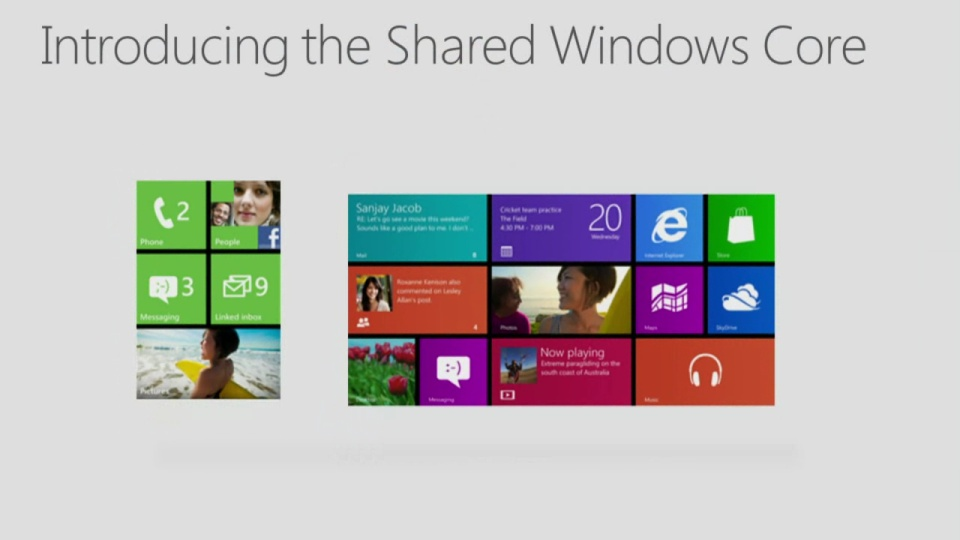 Windows 8:  Shared Core – Joe Belfiore, Windows Phone 8