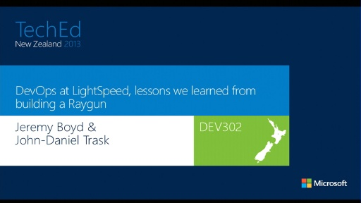 DevOps at LightSpeed, lessons we learned from building a Raygun