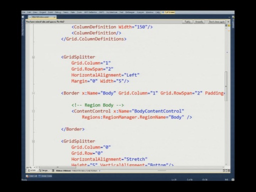 Israeli MSDN Session: Composite Applications with WPF and PRISM 4 with Eyal  Vardi Part 2