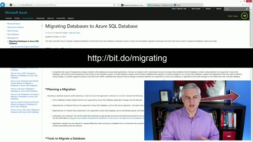 Microsoft Azure Fundamentals: Storage and Data: (20) How Do I: Import a Database into Azure SQL
