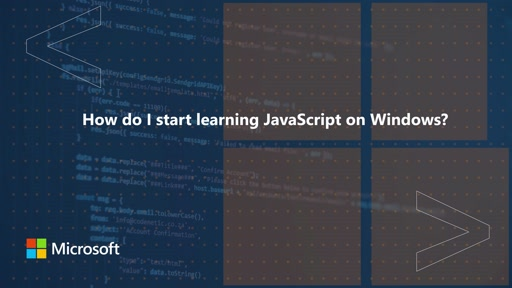 How do I start learning JavaScript on Windows? | One Dev Question