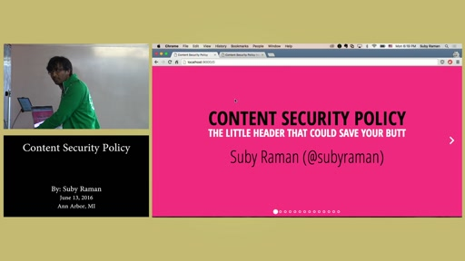 Content Security Policy by Suby Raman