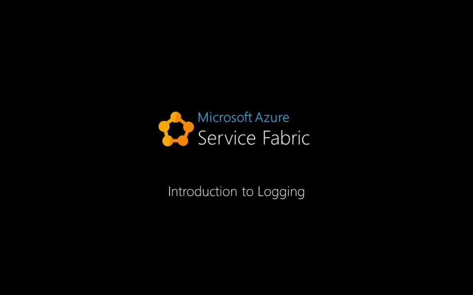 Introduction to logging in Service Fabric Applications