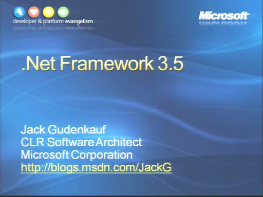 VS2008 Training Kit: .NET Framework 3.5 Enhancements