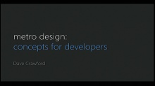 Metro Design Concepts for Developers