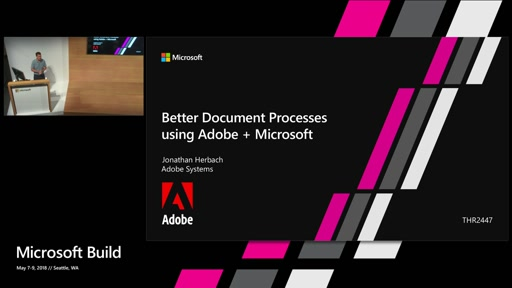Building document processes using Adobe + Microsoft