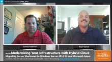 TechNet Radio: (Part 6) Modernizing Your Infrastructure with Hybrid Cloud - Introduction to Migrating Server Workloads to Windows Server 2012 R2 and Microsoft Azure