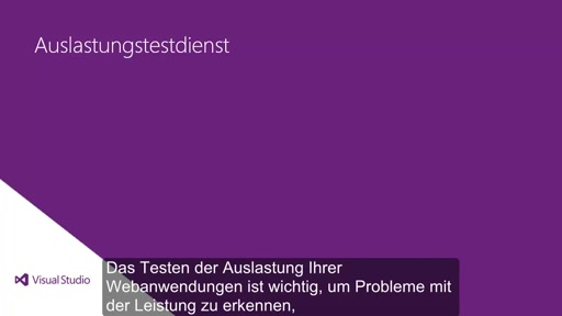 Visual Studio 2013 Ultimate: Auslastungstests in der Cloud