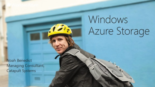 Exploring Windows Azure Storage