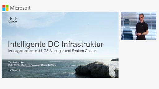 Intelligente Infrastruktur fürs DC, gemanaged aus dem UCS-Manager und System Center