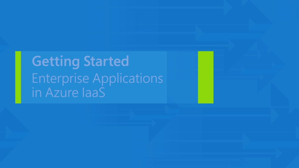 Running enterprise applications on Azure
