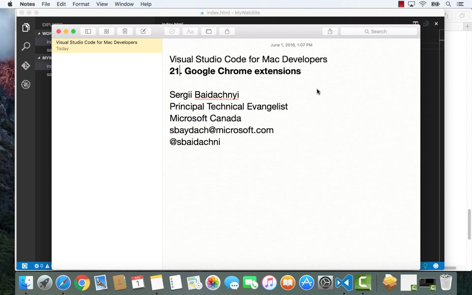 22  Python | Visual Studio Code for Mac Developers | Channel 9