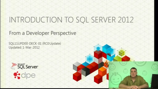 Roger Doherty: Introduction to SQL Server 2012