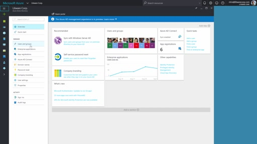 Getting started with the new Azure Active Directory management experience