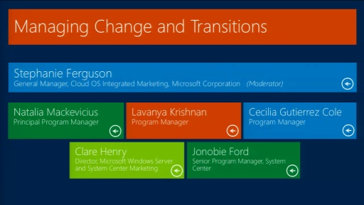 Women in Technology Luncheon: Managing Change and Transitions