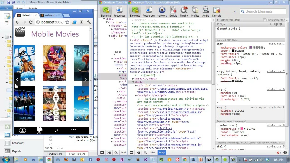 Going Native with HTML5