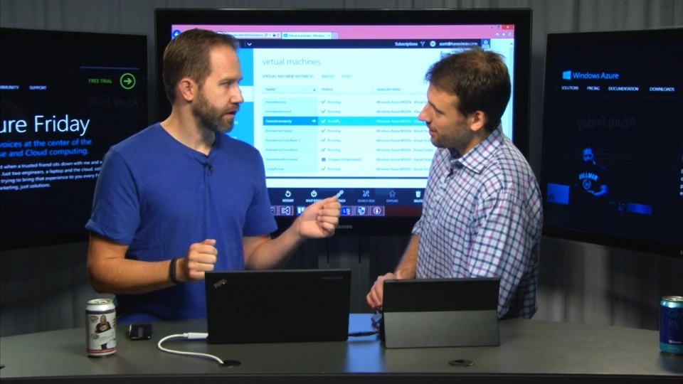 Azure SDK comparison - Node Command Line, PowerShell, and Visual Studio integration for Azure VMs