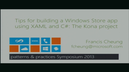 Tips for building a Windows Store app using XAML and C#: The Kona project