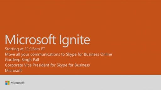 Move all your communications to Skype for Business Online