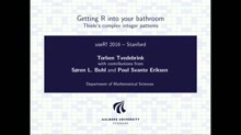 Getting R into your bathroom