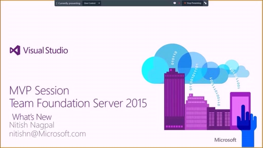 Developer Support Series: TFS 2015 new features part 1