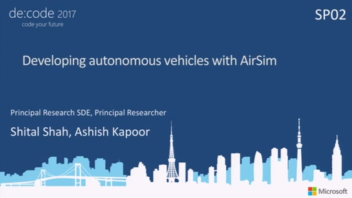 Developing autonomous vehicles with AirSim