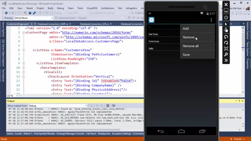 #Xamonday show: Local data access in Xamarin.Forms with SQLite