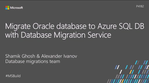 Migrate from Oracle to Microsoft SQL Server | Microsoft