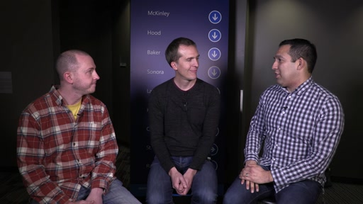 MVP Summit 2015: Steve Sanderson and Brad Green