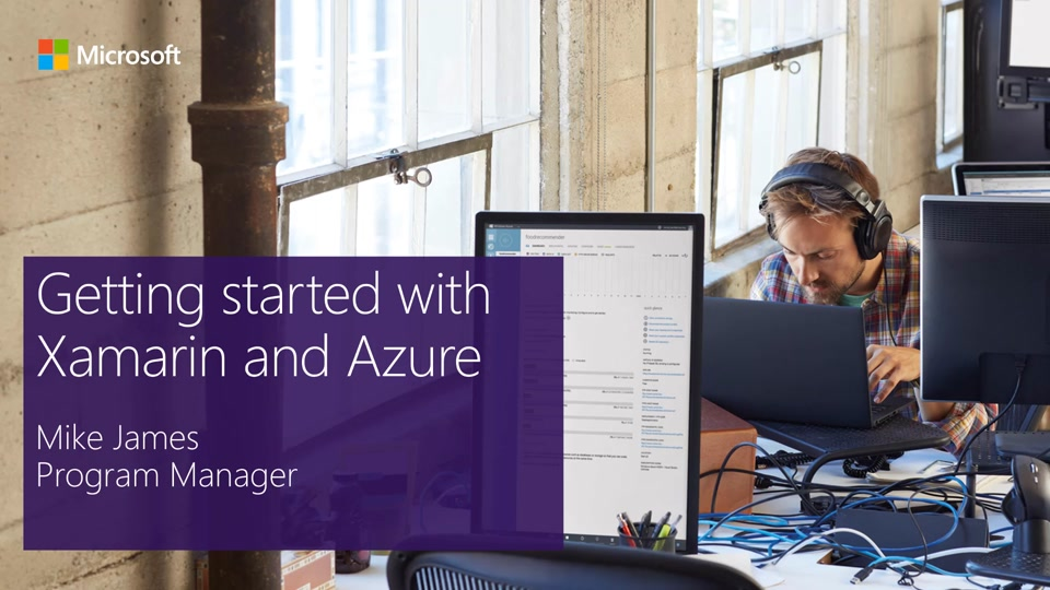 Get started with Xamarin and Azure