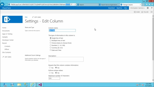 Developing SharePoint Server Advanced Solutions: (03) Customizing the Search Experience