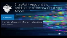 SharePoint Apps and the Architecture of the new Cloud App Development Model
