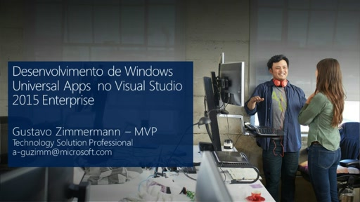 Desenvolvimento de Windows Universal Apps no Visual Studio 2015 Enterprise