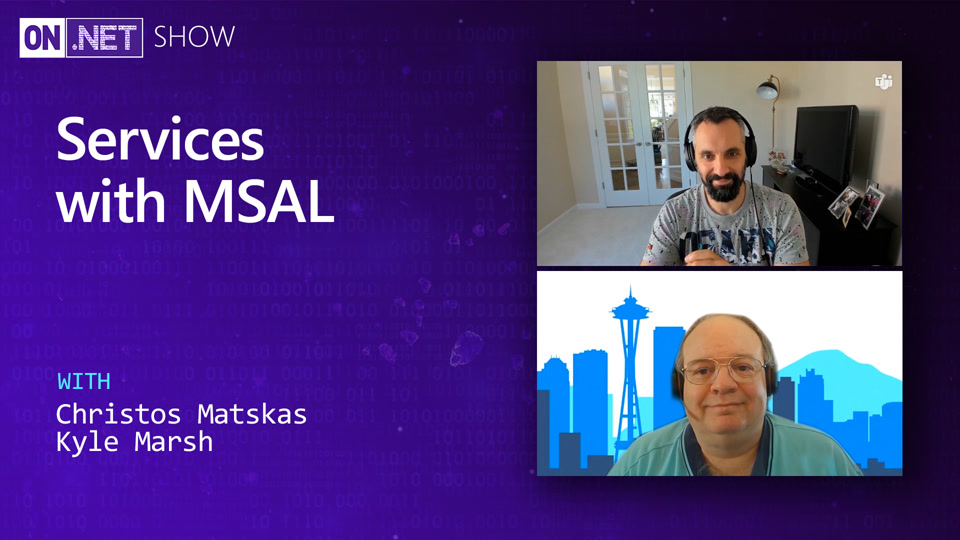 Securing Services with MSAL