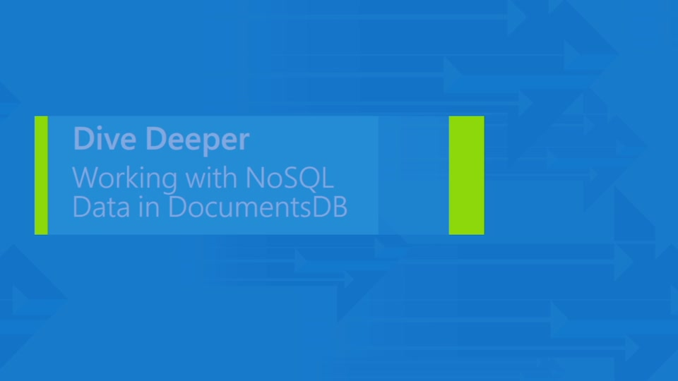 Scaling a multi-tenant application with Azure DocumentDB