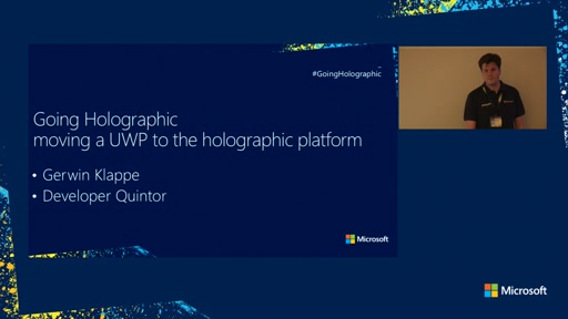Going holographic, moving a UWP app/game to the holographic platform