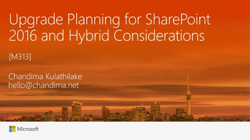Upgrade Planning for SharePoint 2016 and Hybrid Considerations
