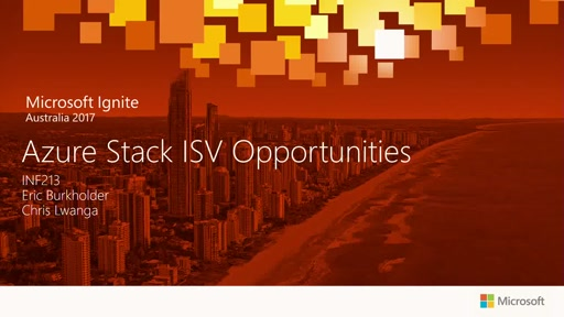 Azure Stack ISV Opportunities and how to engage early.