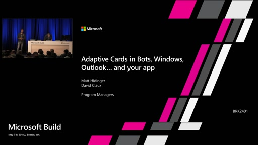 Adaptive Cards in Bots, Windows, Outlook and your own applications