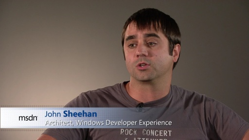 John Sheehan: Windows 8 Platform