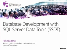 TechDays 11 Bern - What´s new for the SQL Server and SQL Azure developer in Visual Studio with Denali