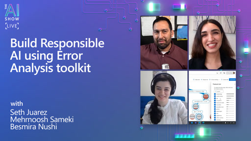 Build Responsible AI using Error Analysis toolkit
